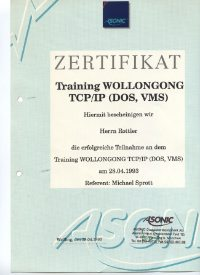Wollongong- Netz- Training